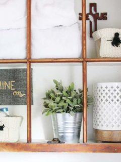 Easy Bathroom Organization Ideas for a quick and stylish refresh. @CraftivityD