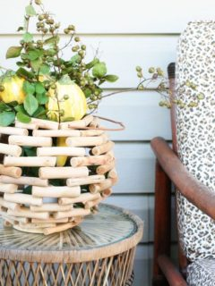 Fall Home Tour with Rustic and Natural Elements by @CraftivityD