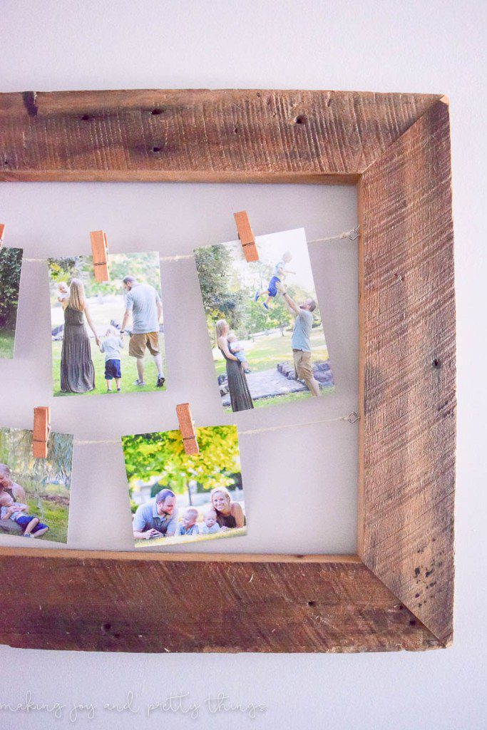 40+ Photo Display Ideas, DIY Photo Display, Vintage Photo Display, Art Display by @CraftivityD