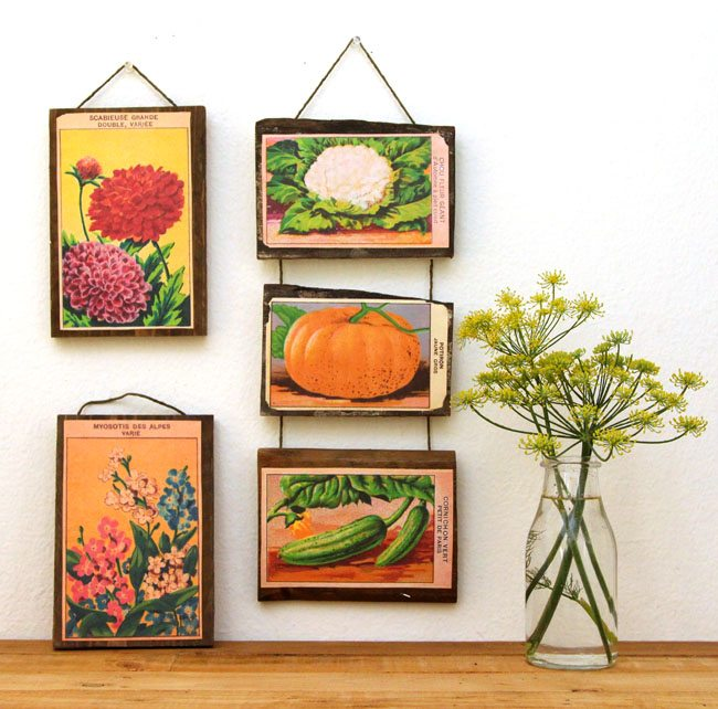 DIY Photo Display Idea using a Vintage Folding Ruler, Instagram Photo Display, by @CraftivityD