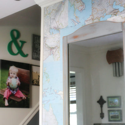 DIY Map Wallpaper : A Refresh