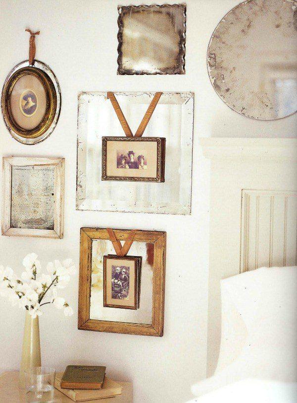 40+ Photo Display Ideas, DIY Photo Display, Vintage Photo Display, Art Display by @CraftivityD