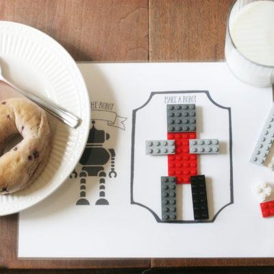 Printable Play Mats and Tabletop Play Kit