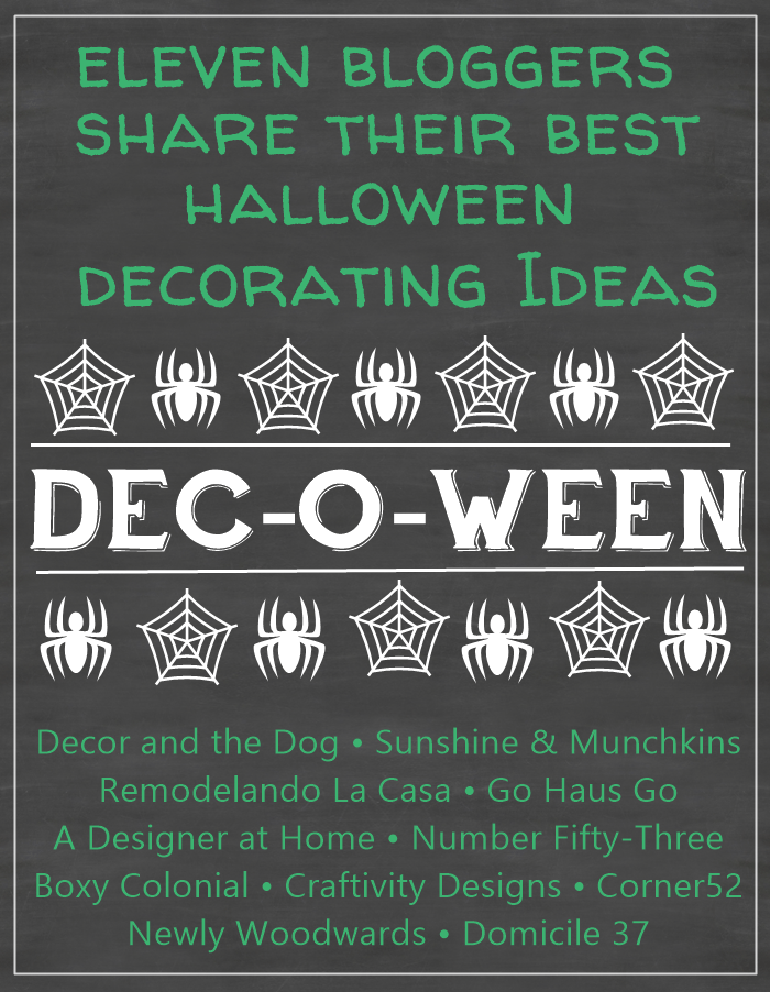 Dec-o-ween: The best Halloween decorating ideas from 11 different bloggers