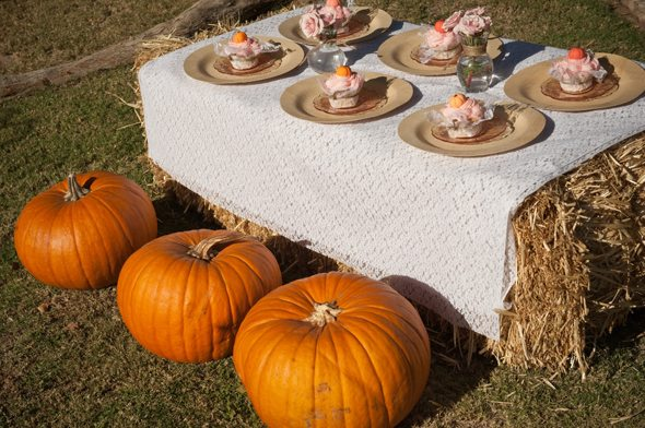 Pretty Pumpkin Party Ideas, by @CraftivityD