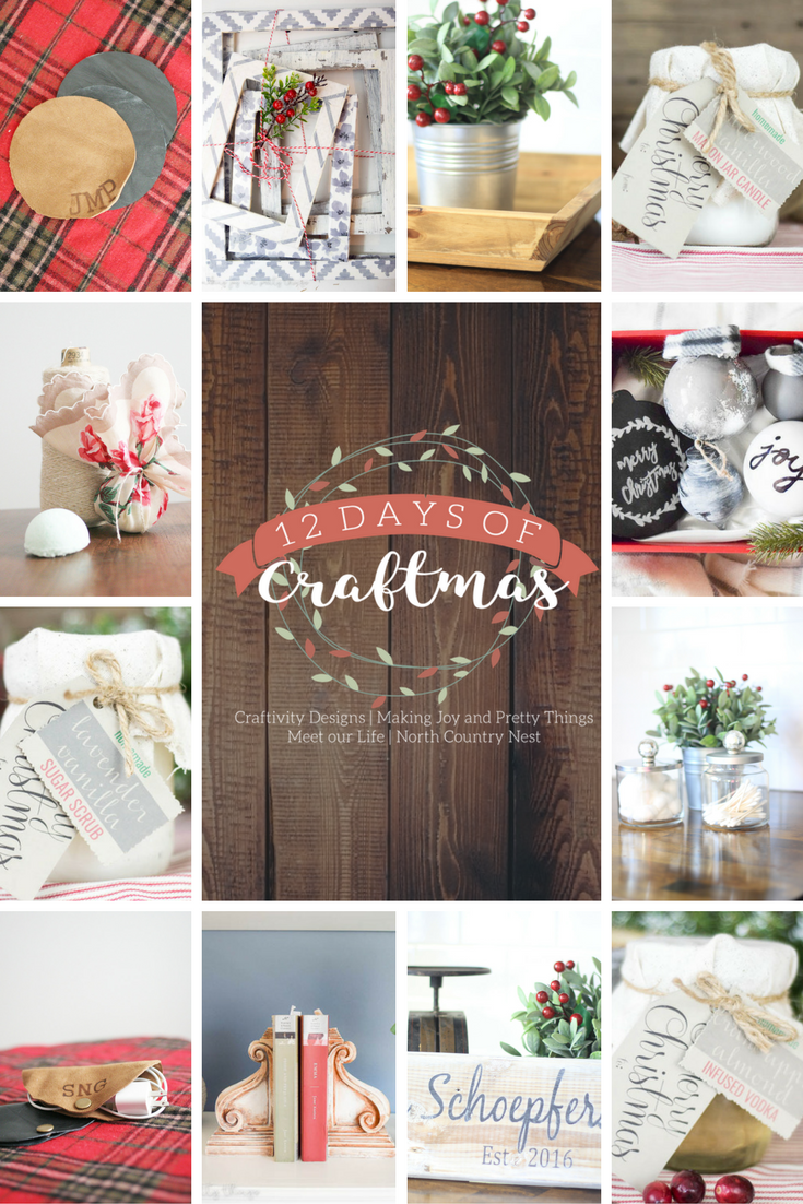 12 Days of Craftmas: 12 Handmade Christmas Gifts that you can easily make and give!