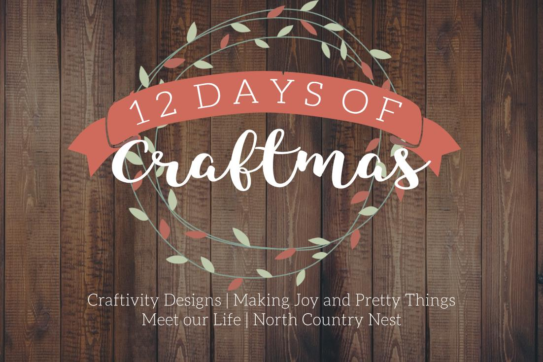 12 Days of Craftmas -- handmade gift ideas for the holiday season.