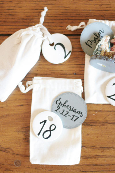 2016 DIY Advent Calendar with Scripture