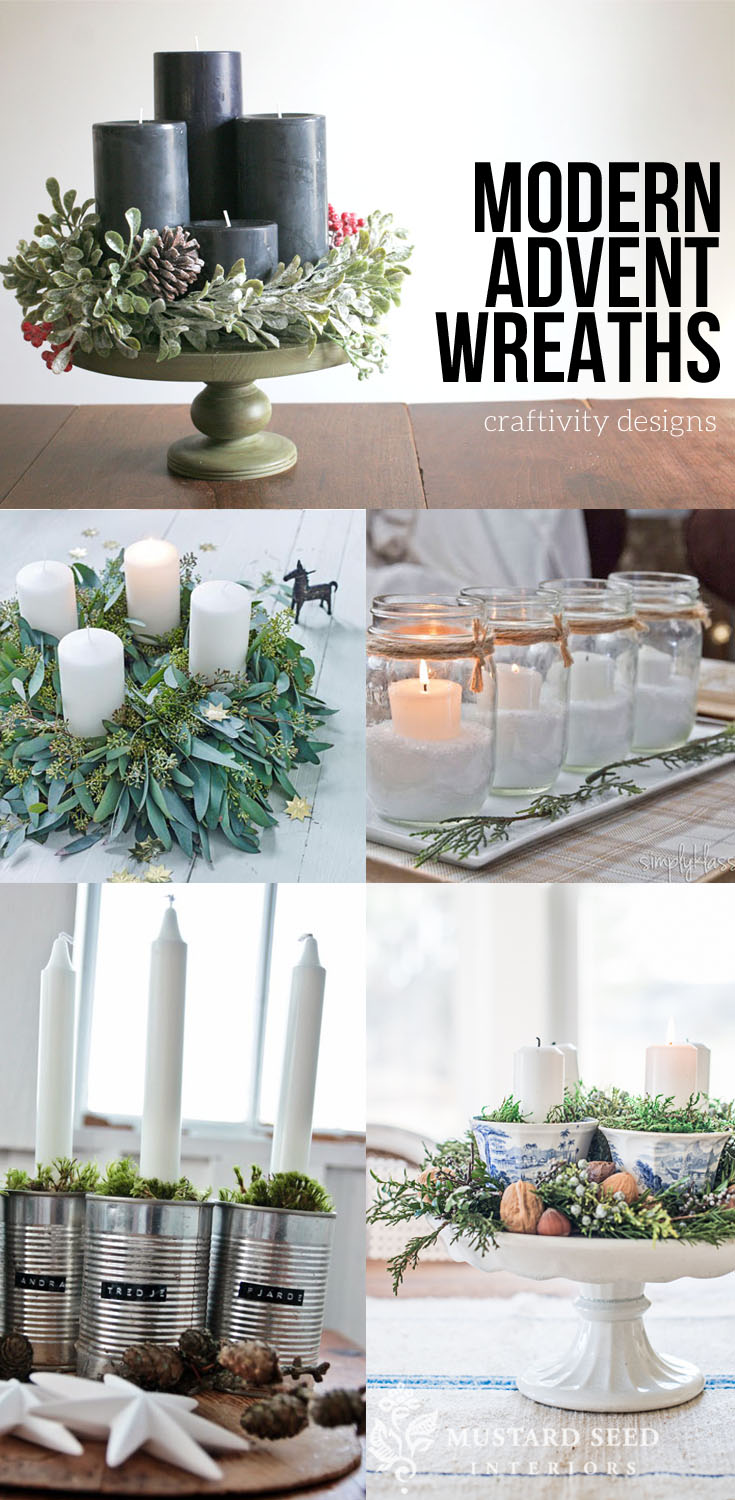 advent craft ideas 17 modern advent wreath ideas that are beautiful and 1025