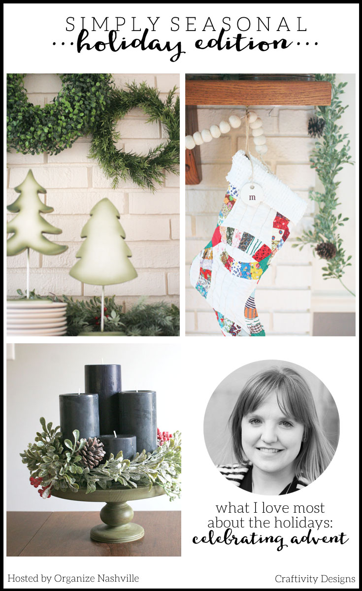 5 Simple Christmas Decorating Tips, Simply Seasonal, Christmas Home Tour by @CraftivityD