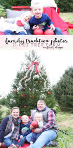 Family Tradition Photos, Family Christmas Photos, U-Cut Tree Farm by @CraftivityD