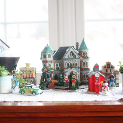 Fairy Garden Christmas Village