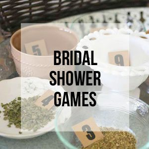Bridal Shower Games, Free Printable Library
