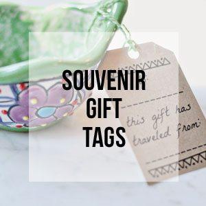 Souvenir Gift Tags, Free Printable Library