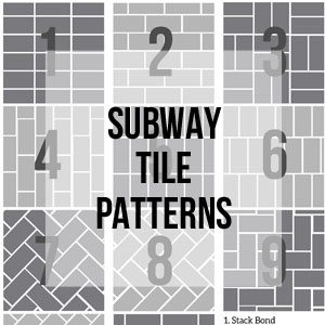 Subway Tile Patterns, Free Printable Library