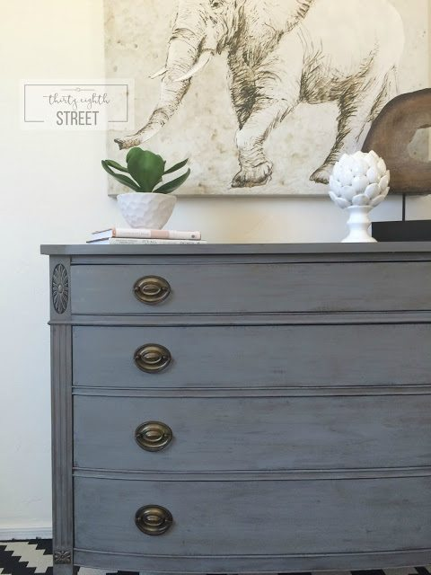 Gray Furniture Makeovers Paint Colors By Craftivityd