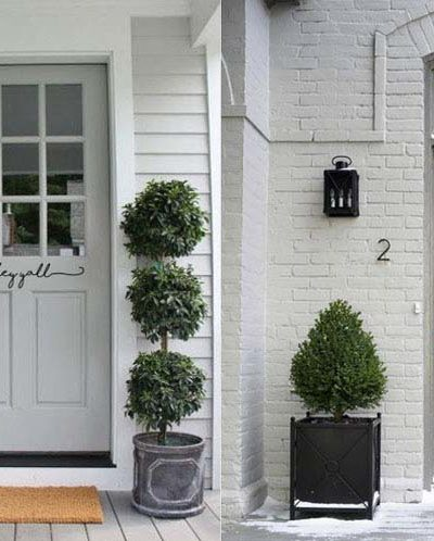 3 Gorgeous Grey Front Door Ideas for Your Porch | Exterior Colors