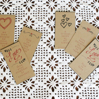 Valentine's Day Bible Verse Cards