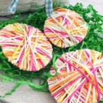 12 Easter Crafts for Kids, Yarn Easter Eggs, Easter Craft Ideas