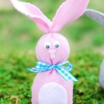 12 Easter Crafts for Kids, Sock Bunny, Easter Craft Ideas