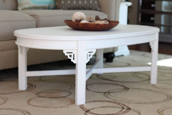 White Coffee Table - by Checking in with Chelsea
