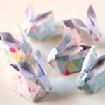 12 Easter Crafts for Kids, Origami Easter Bunny, Easter Craft Ideas