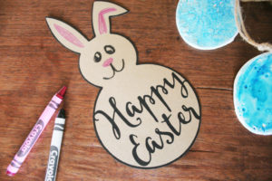 Watercolor Easter Eggs, Clay Easter Eggs, Easter Bunny Template, Easter Craft Ideas