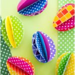 12 Easter Crafts for Kids, Paper Easter Eggs, Easter Craft Ideas