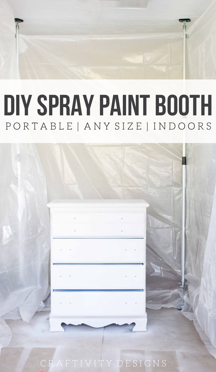 How To Spray Paint Indoors Build A Diy Booth In Your Garage