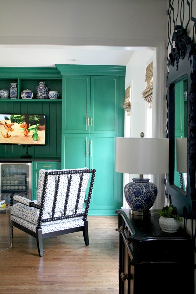 Tips For Kitchen Color Ideas: 20 Green Painted Furniture Makeovers