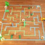 Giant Floor Maze Template