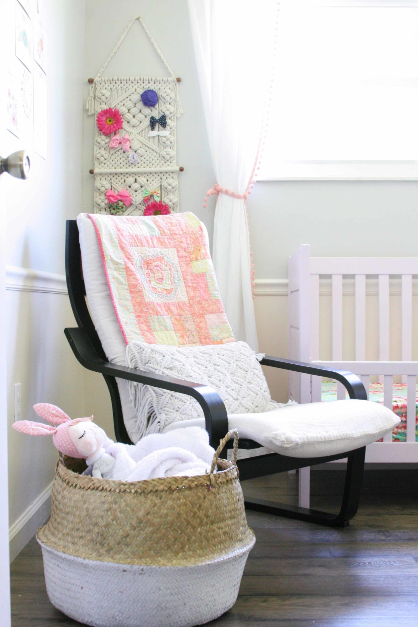 Amelia S Room Toddler Bedroom: Modern Bohemian Bedroom For Baby Girl