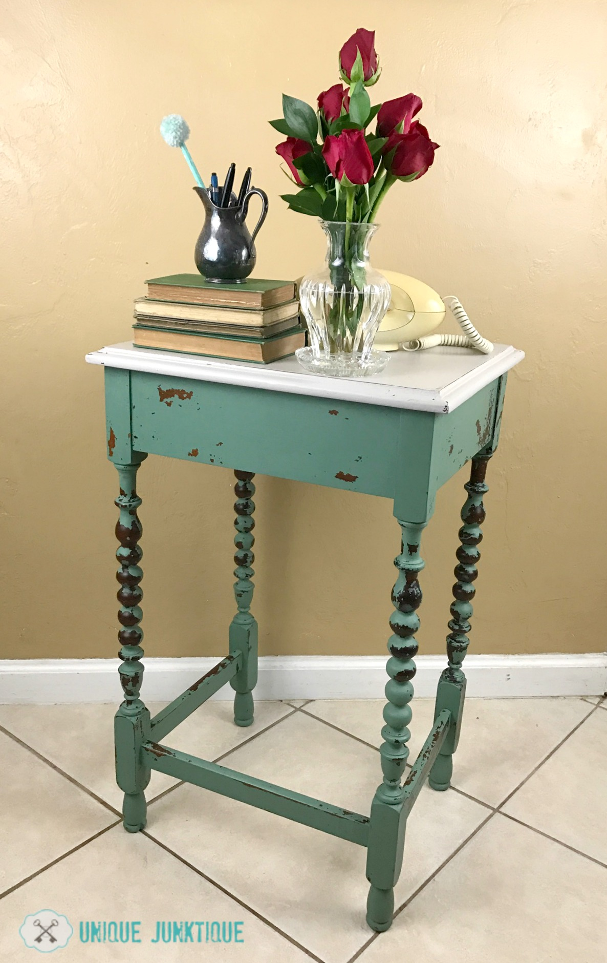 Green Painted Furniture Makeovers Craftivity Designs
