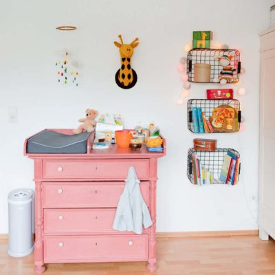 10 Pink Painted Furniture Makeovers