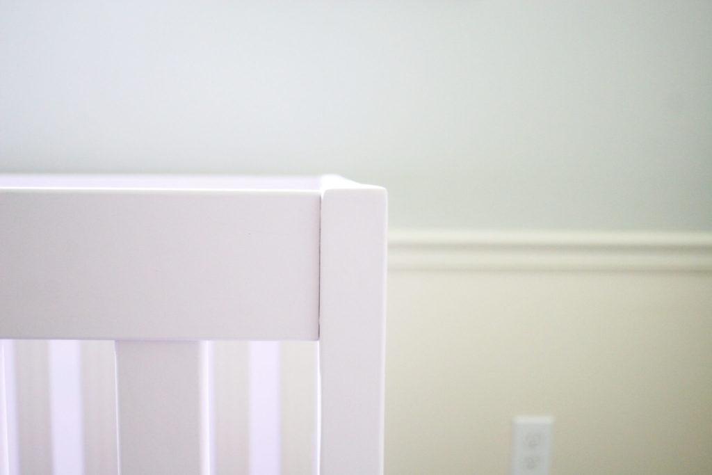 Pink Crib for a Nursery or Toddler Room, Furniture Makeover, Crib Makeover