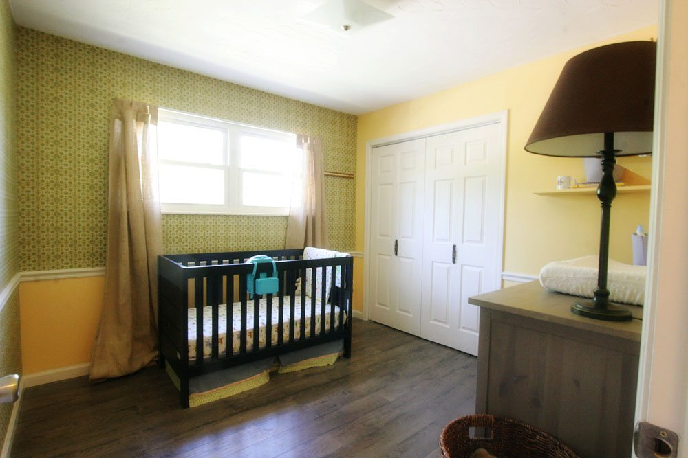 One Room Challenge - BEFORE - Modern Bohemian Nursery Makeover