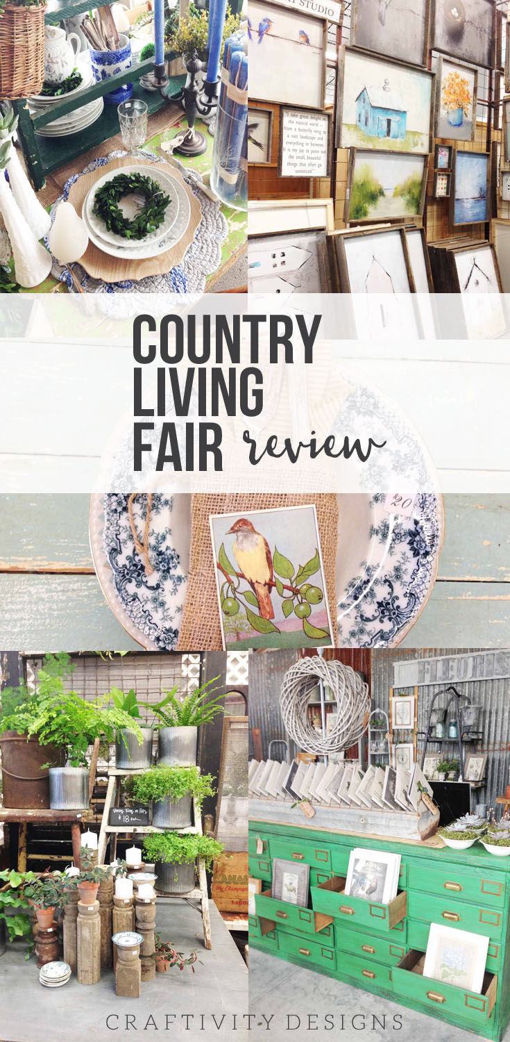 country living fair review nashville 2017 craftivity