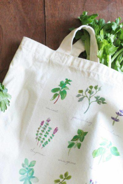 DIY Tote Bag for the Farmer's Market