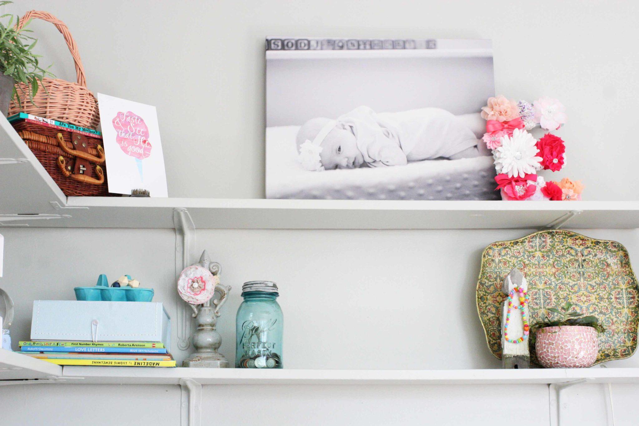 modern bohemian bedroom for baby girl