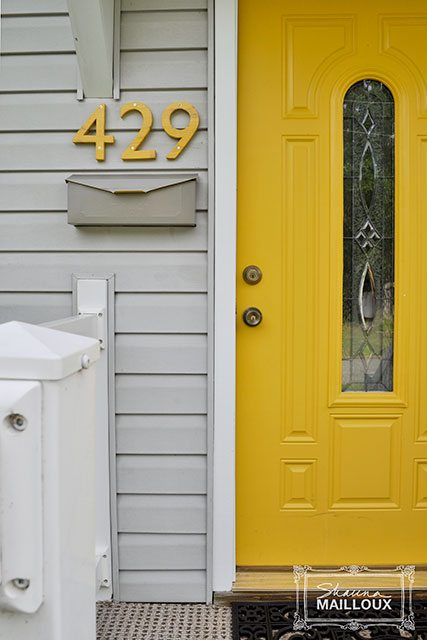 Yellow Front Door Ideas, Photo by Beautiful Matters