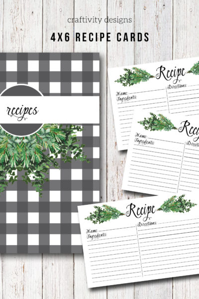 15 Fantastic Recipe Binder Templates and Menu Planning Kits
