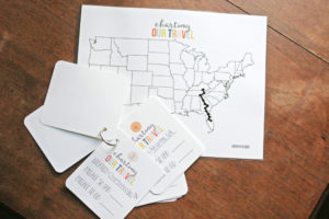 """Map My Trip"" for Kids! A travel activity that teachs children about directions, maps, and mileage. Plus, kids can chart travel on a road trip. Free Printables! by Craftivity Designs"