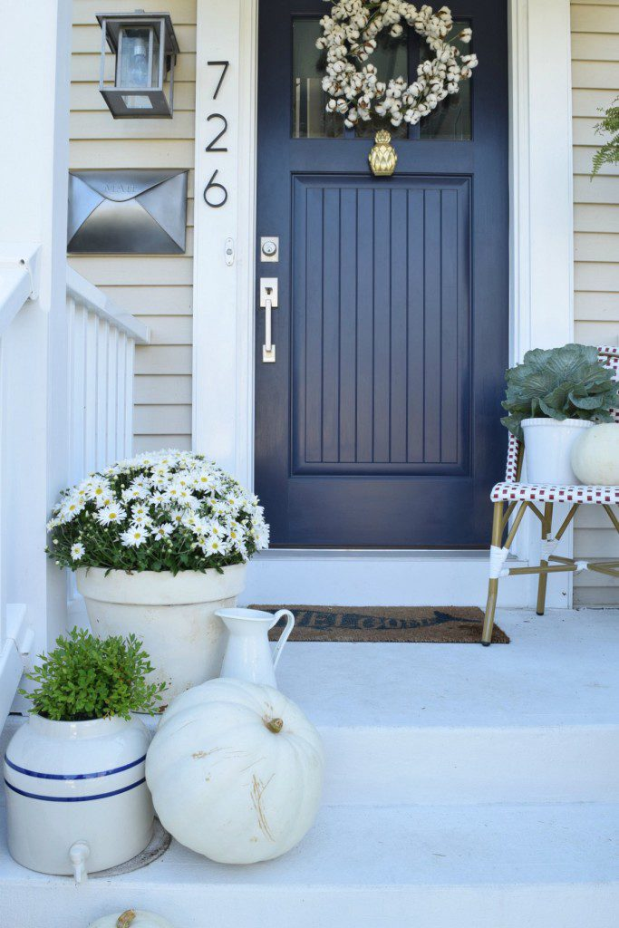 Exterior Colors Navy Front Door Ideas Craftivity Designs