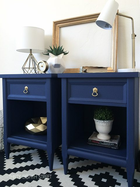 12 Navy Painted Furniture Makeovers Craftivity Designs