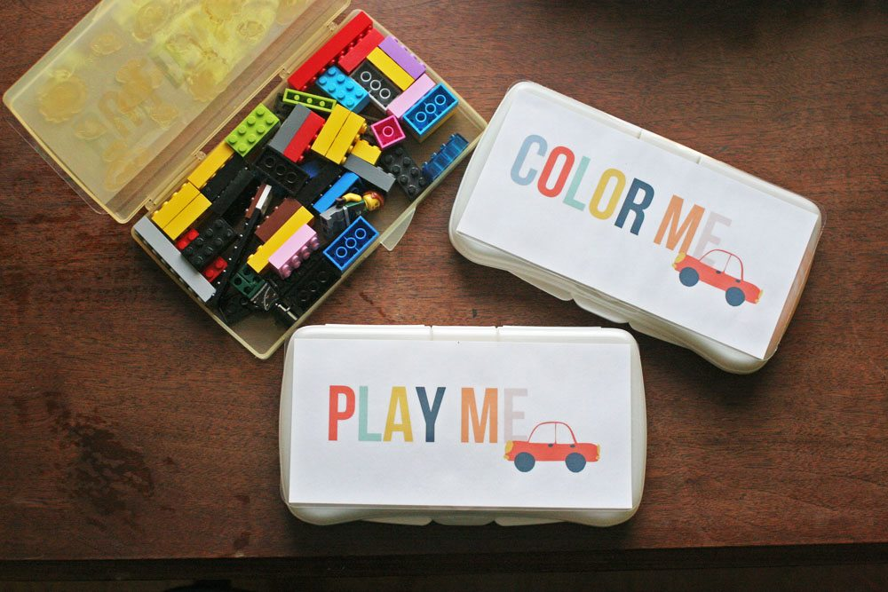 Color Me, Build Me, Play Me, 3 Fun + Free Travel Game Templates and Road Trip Printables