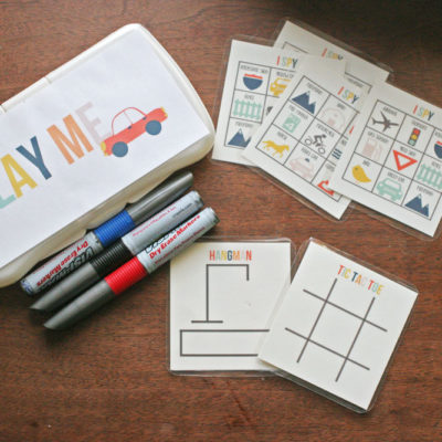 3 Fun + Free Travel Game Templates and Road Trip Printables