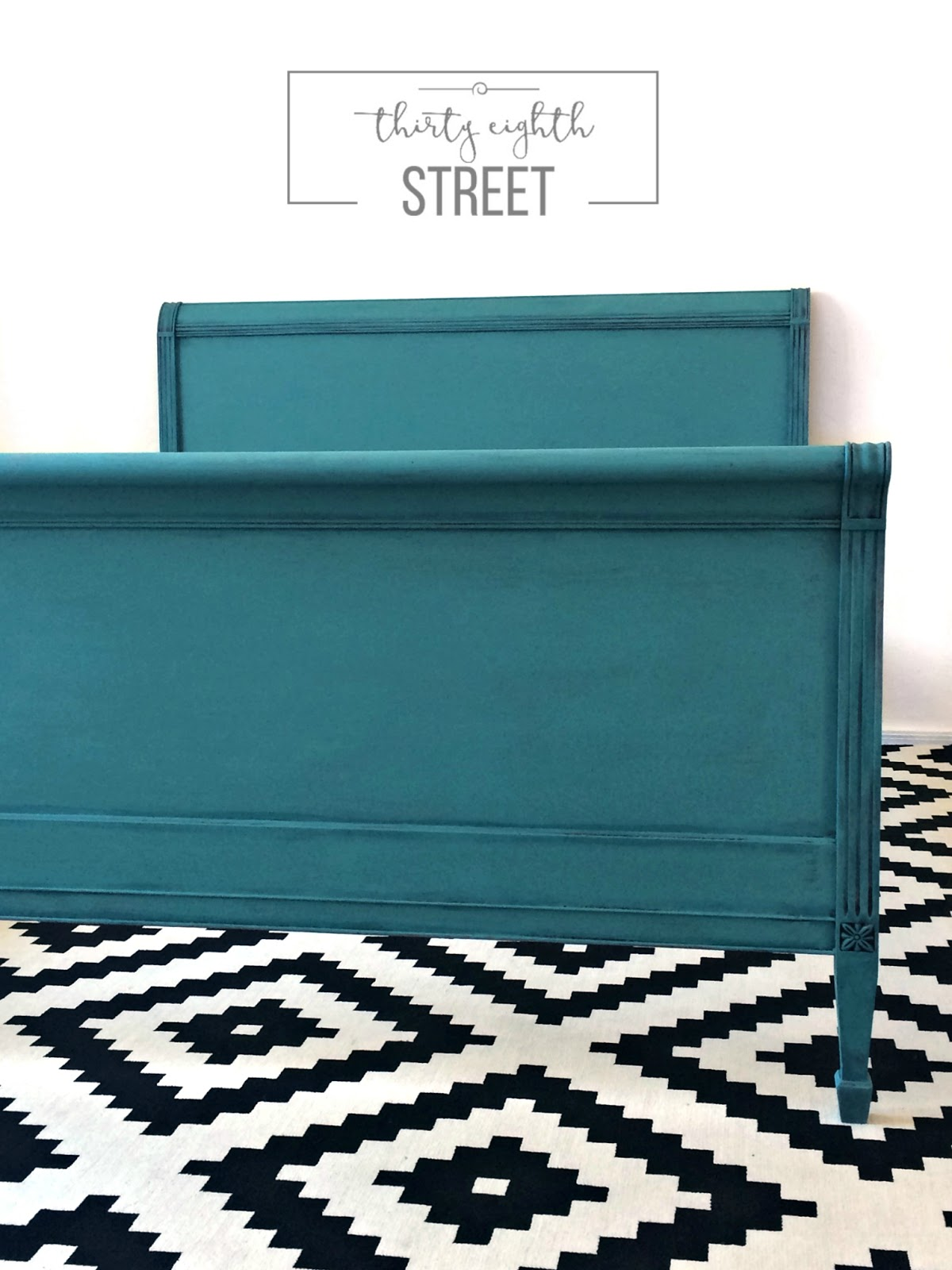 19 Painted Furniture Makeovers In A Coastal Color Palette, Blue Furniture,  Green Furniture,