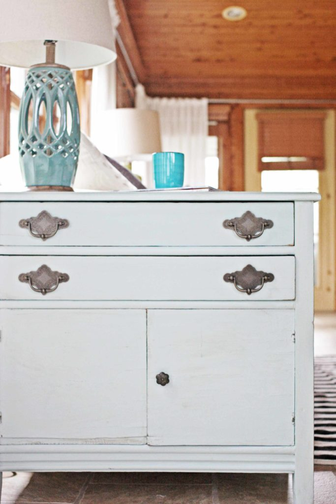 Kingfisher Blue Painted Furniture