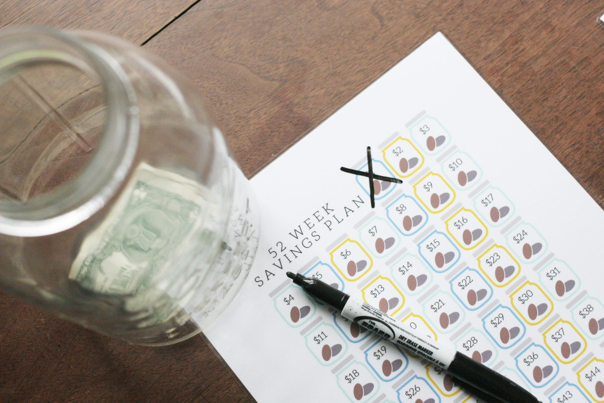 Organize your Finances with a Free Savings Tracker – Craftivity Designs