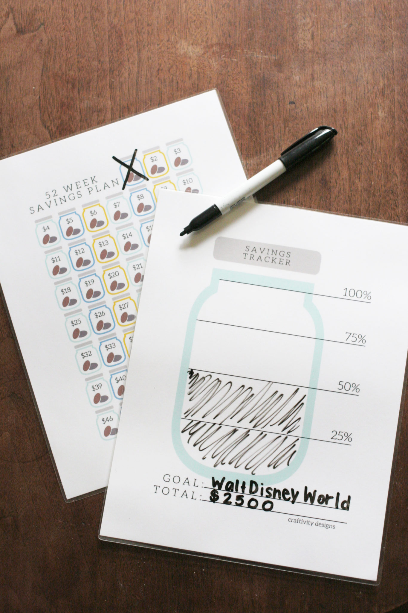 Organize your Finances with a Free Savings Tracker Craftivity – Savings Worksheet